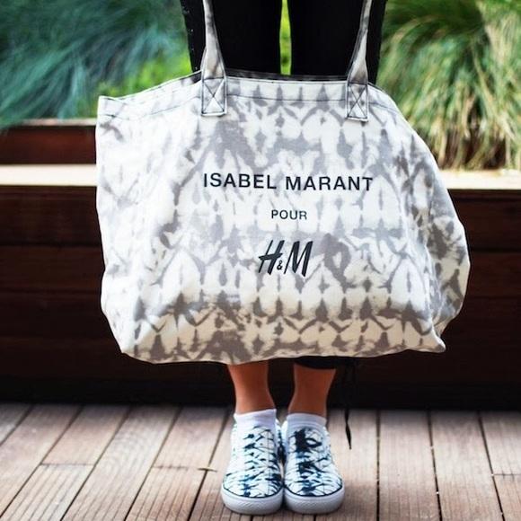 c44b49250d Isabel Marant pour H&M Handbags - Xmas Sale! Isabel Marant-H&M tie dye  canvas